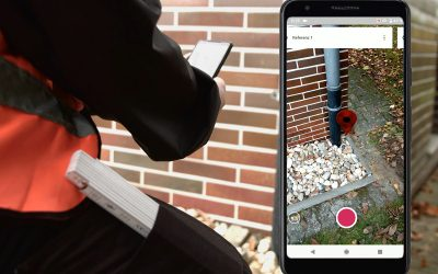 ew: Hausanschlüsse vermessen via Smartphone und Augmented Reality